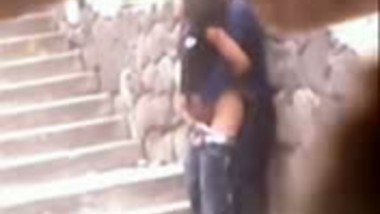 Indian outdoor sex mms of desi college girl fucked by lover