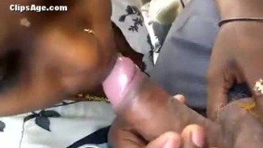 Indian maid sucking lund of her houseowner inside car