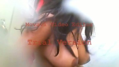 Younger sister Sreejasri taking bath video captured using hidden cam