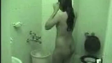 sarika enjoying bath after sex
