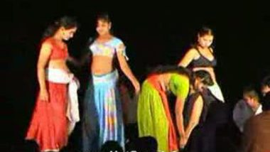 Telugu Hot Girls Night stage dance 18