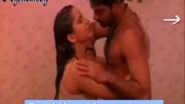 Ramya in bathroom servant seducing her for