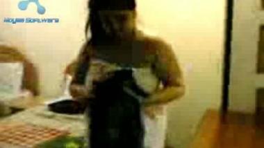 Girl On Towel