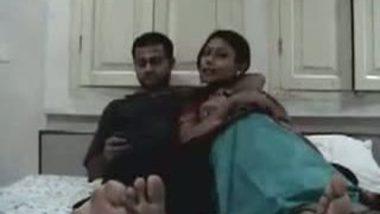 Indian honeymoon couple
