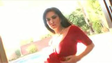 Indian Actress Getting Dress Off