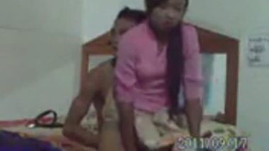 MMS scandals of local nepali girl hard fucked by servant