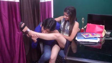 Mumbai office girl in bgrade bollywood movie