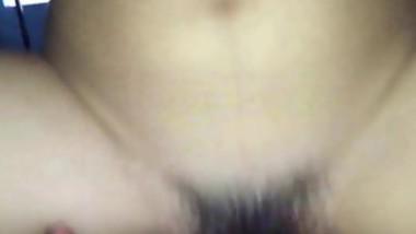 Horny Asian Teen babe having sex on cam