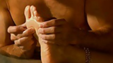 Erotic Foot Fetish Massage From India