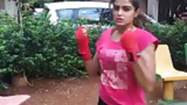 Cute Desi Boxing 1 Non Nude