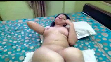 Big boobs shy Amritsar bhabhi sensual sex with hubby
