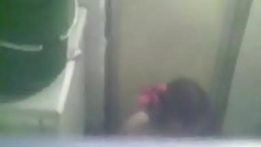 Young Sexy Girl Bathing Hidden Cam