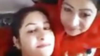 Arab Lesbians Making out and Smoking