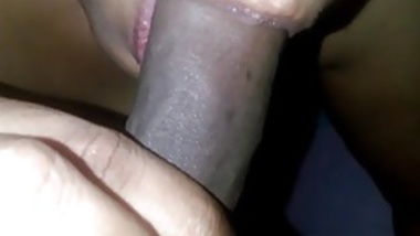 Wife giving nice blowjob2