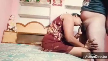 An erotic South Indian BBW blowjob video