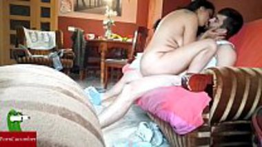 Indian milf having fun with her servant