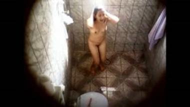 Neighbor Shower Caught In Indian Hidden Cam