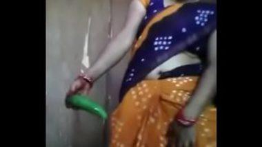 Desi Village Woman Masturbating With Cucumber