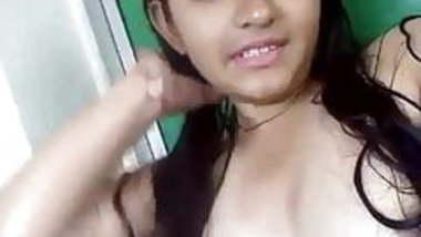indian girl Shy Colg Babe Teena Selfie wid Audio