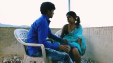 Hot bhabhi sex with another man in stairs