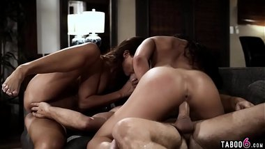 Stepson found out his new stepmom MILF is an escort