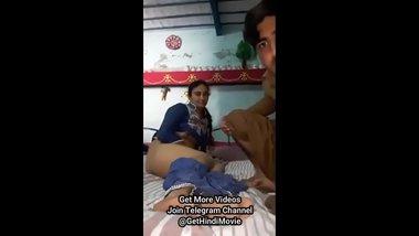 Indian Wife Forced By Husband Telegram ID @GetHindiMovie Search & Follow
